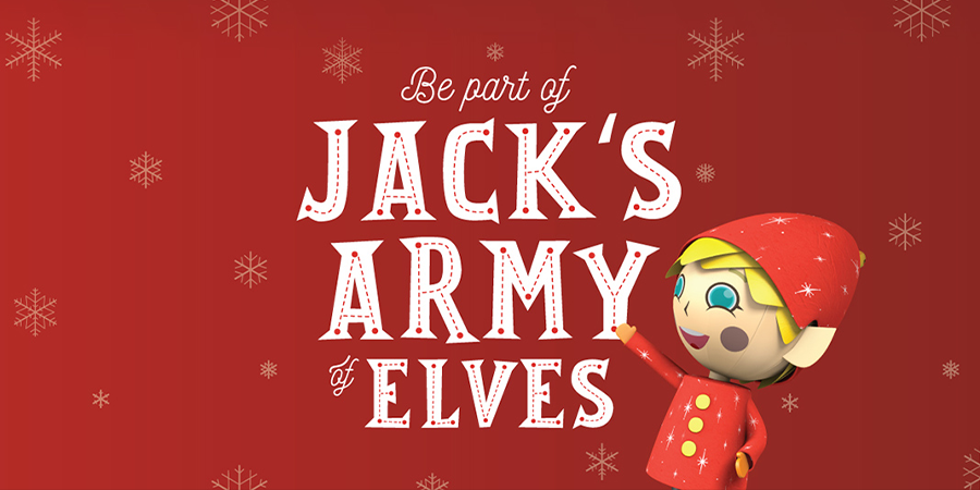 Be Part of Jack\'s Army of Elves